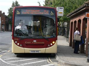 154 bus at Cottingham